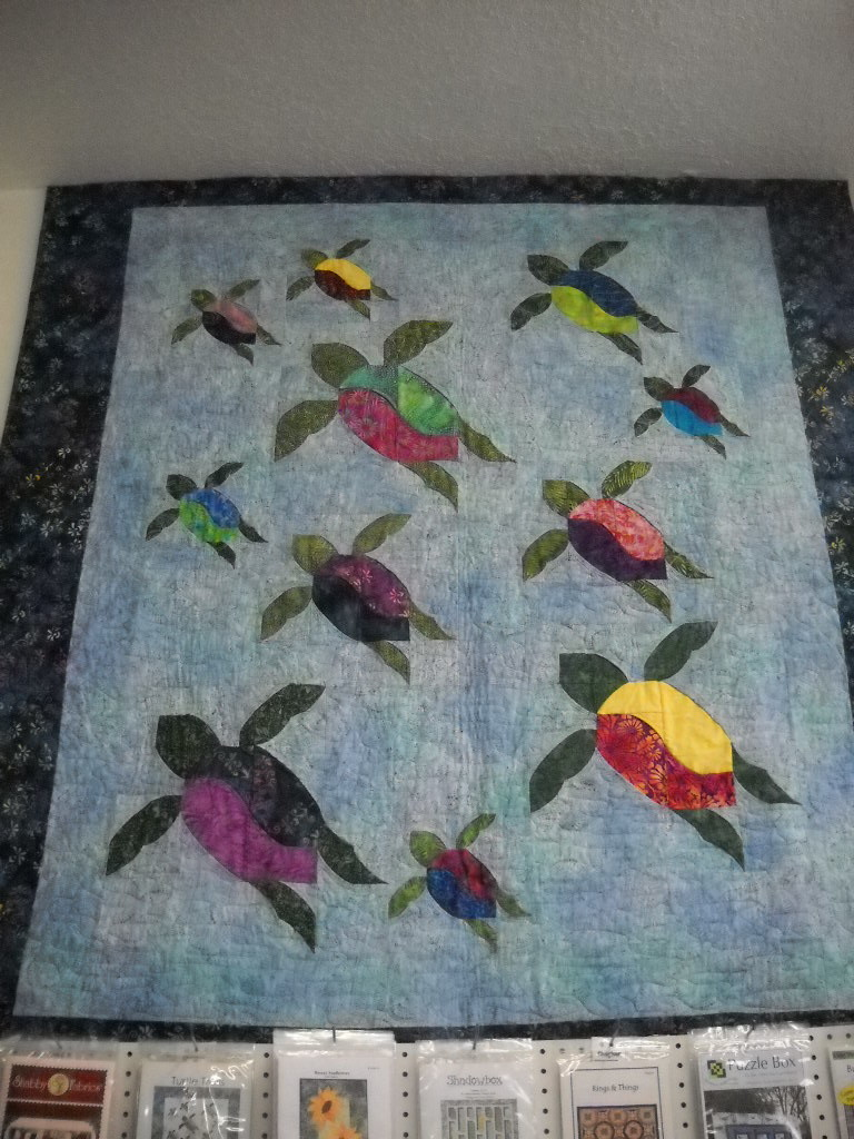 Quilt Patterns With Turtles : Turtle Trails Nana s Quilt Shop